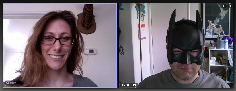 Batman Video Conference