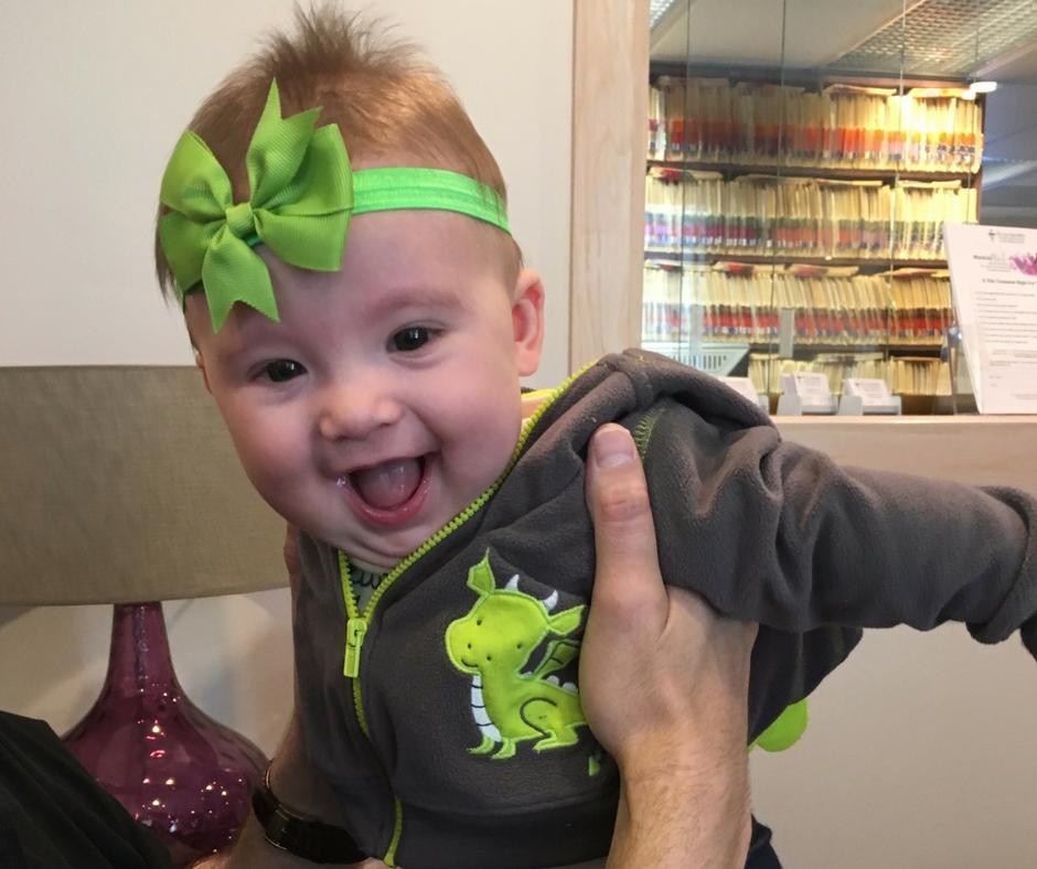 7-month-birthday-girl