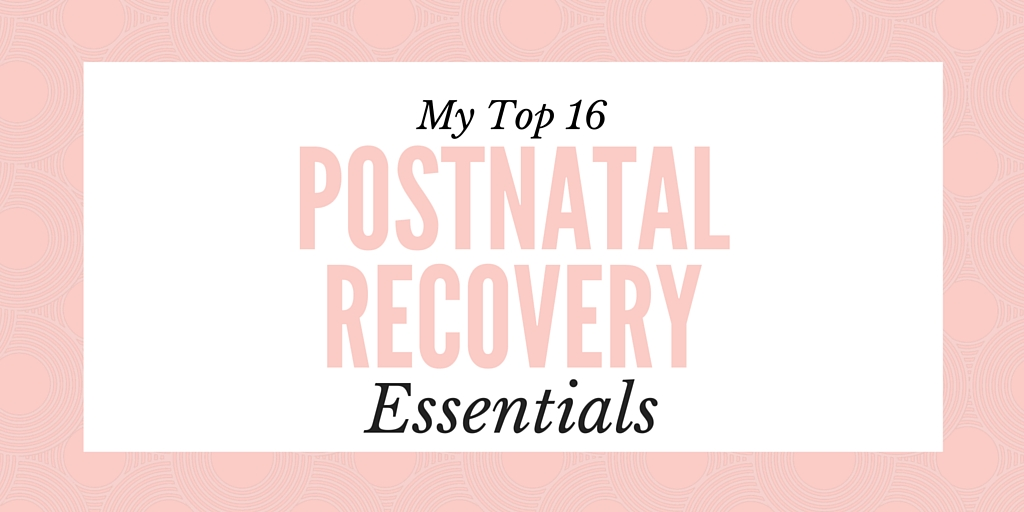 Postnatal Recovery Essentials Header
