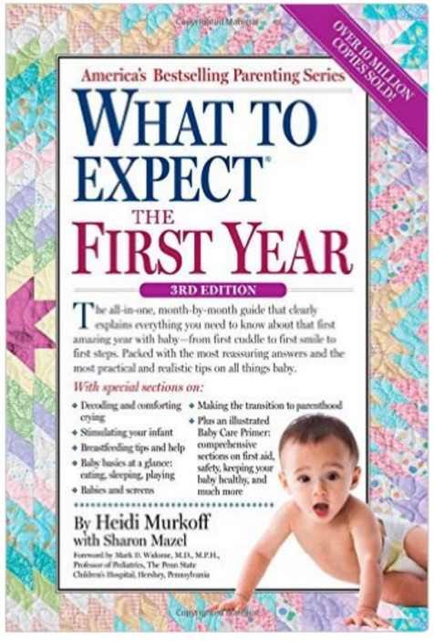 What to Expect The First Year - Pregnancy Books