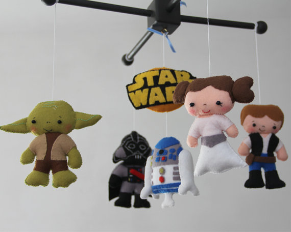 Star Wars Nursery Mobile Thenurseries